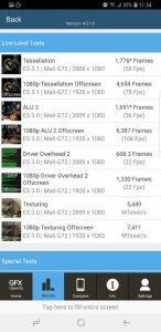 Samsung S9 GFXBench GL 2
