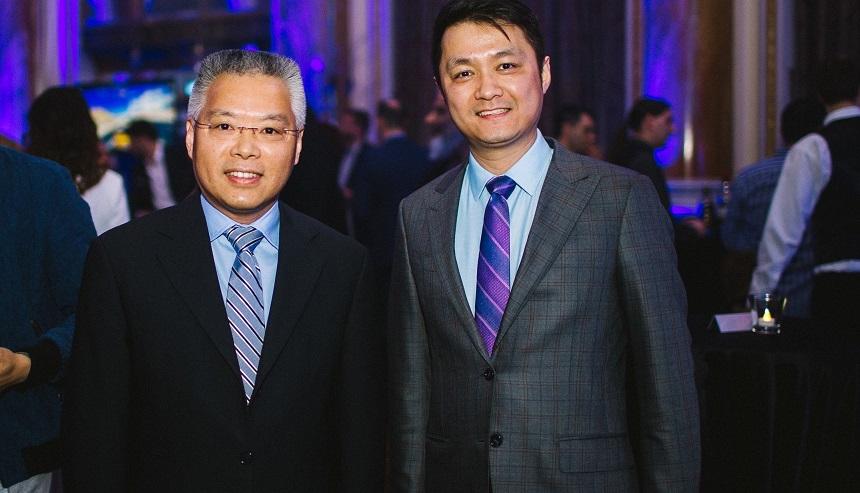 Hu Zhaoming i David Zhangheng