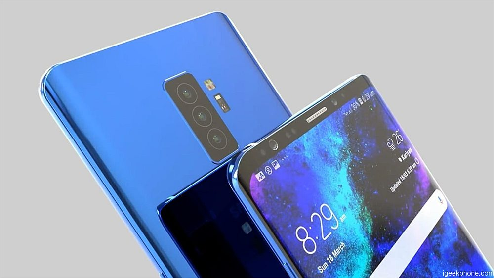Samsung S10 koncept