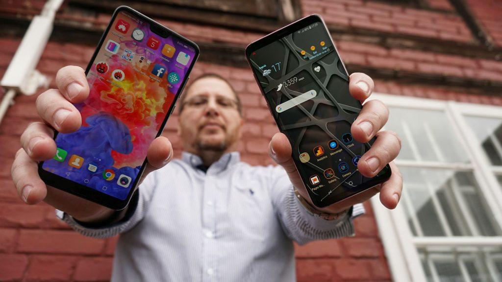 Samsung S9 vs Huawei P20 Pro 1