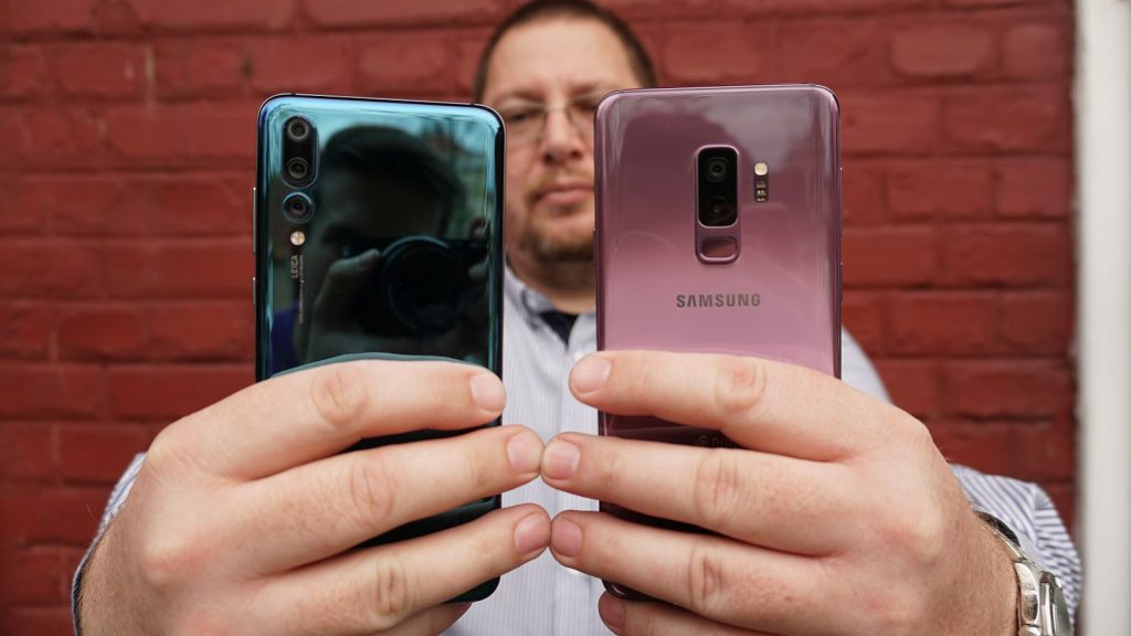 Samsung S9 vs Huawei P20 Pro 6