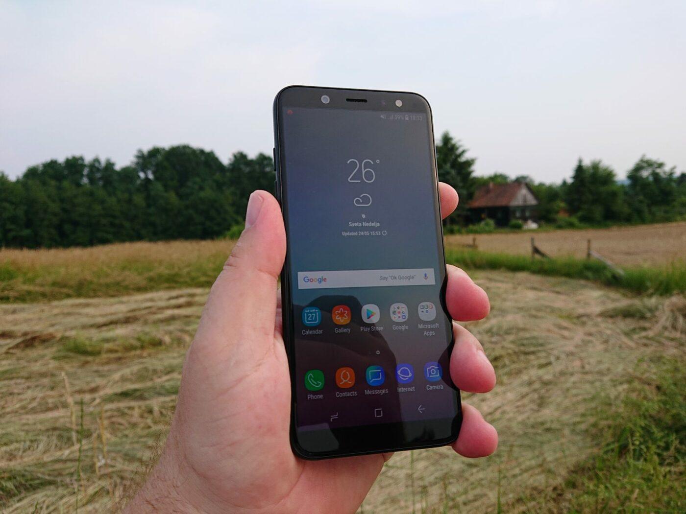 Samsung A6 1 1
