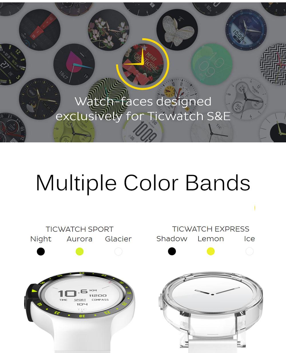 Ticwatch E Smart Watch Black 20171011094556447