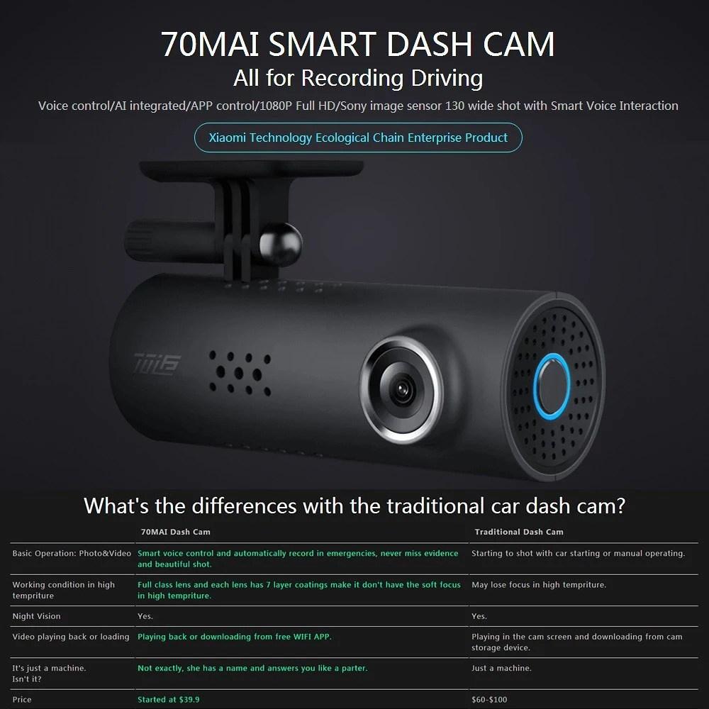 Xiaomi 70MAI Smart Dash Cam 6