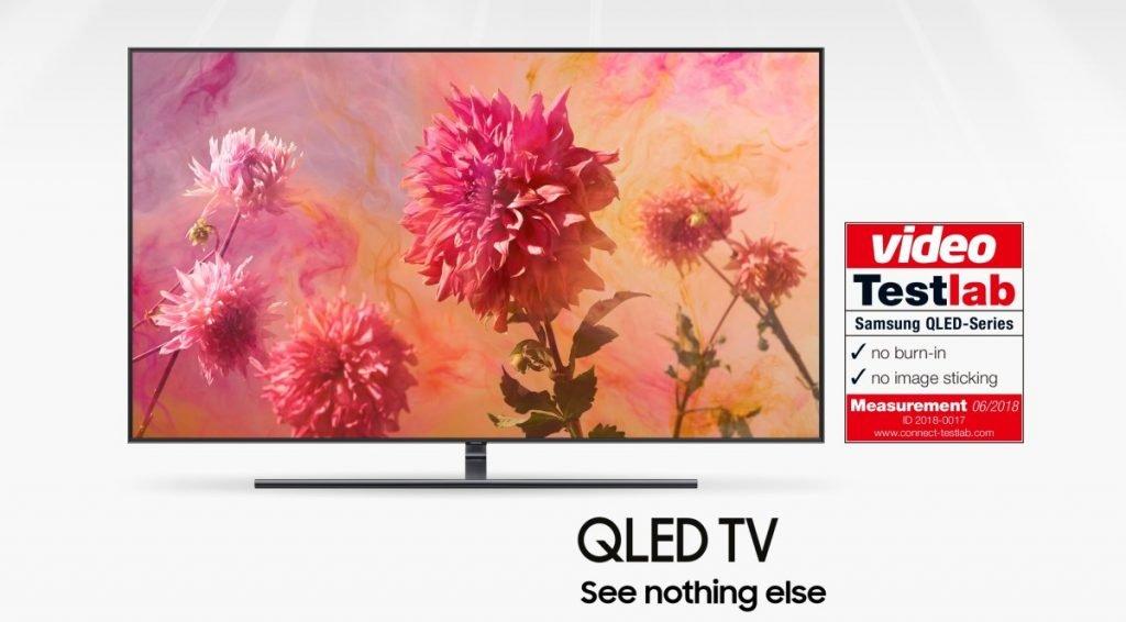 Samsung QLED TV bez burn in problema 2