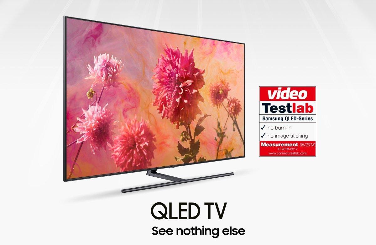 Samsung QLED TV bez burn in problema