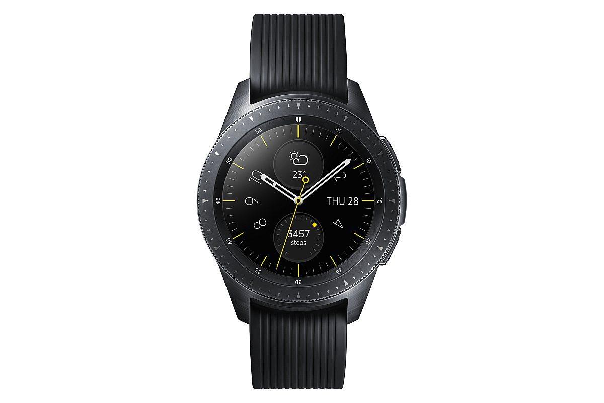 Galaxy Watch 42mm Midnight Black 1