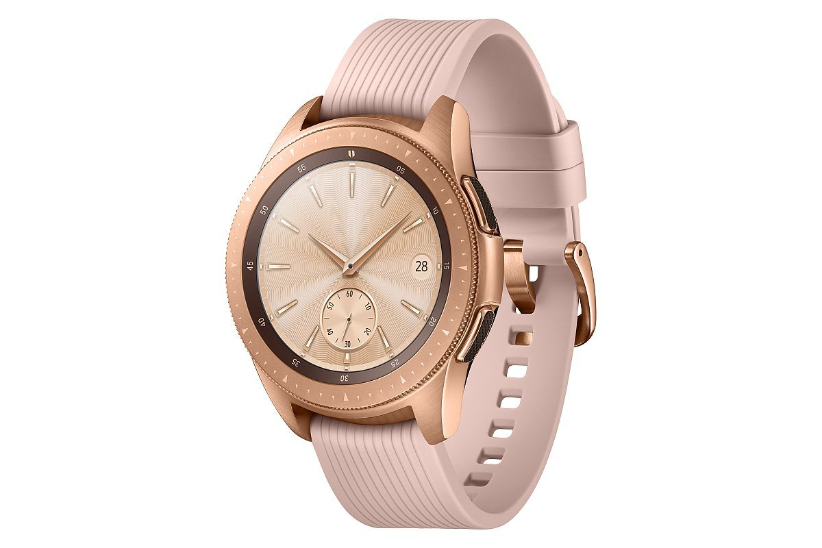 Galaxy Watch 42mm Rose Gold 1