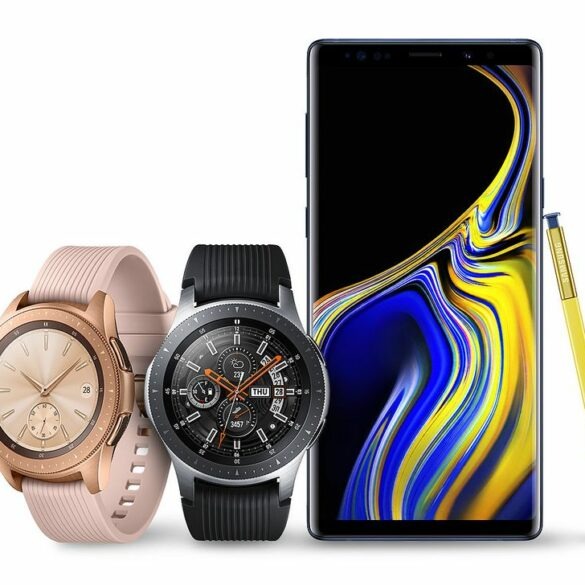 Galaxy Watch Galaxy Note 9 1