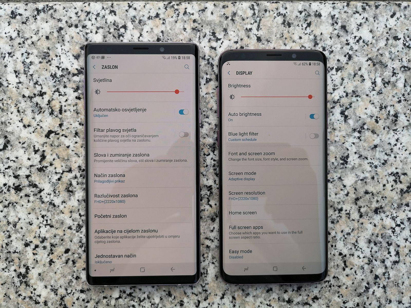 Note 9 vs S9 1