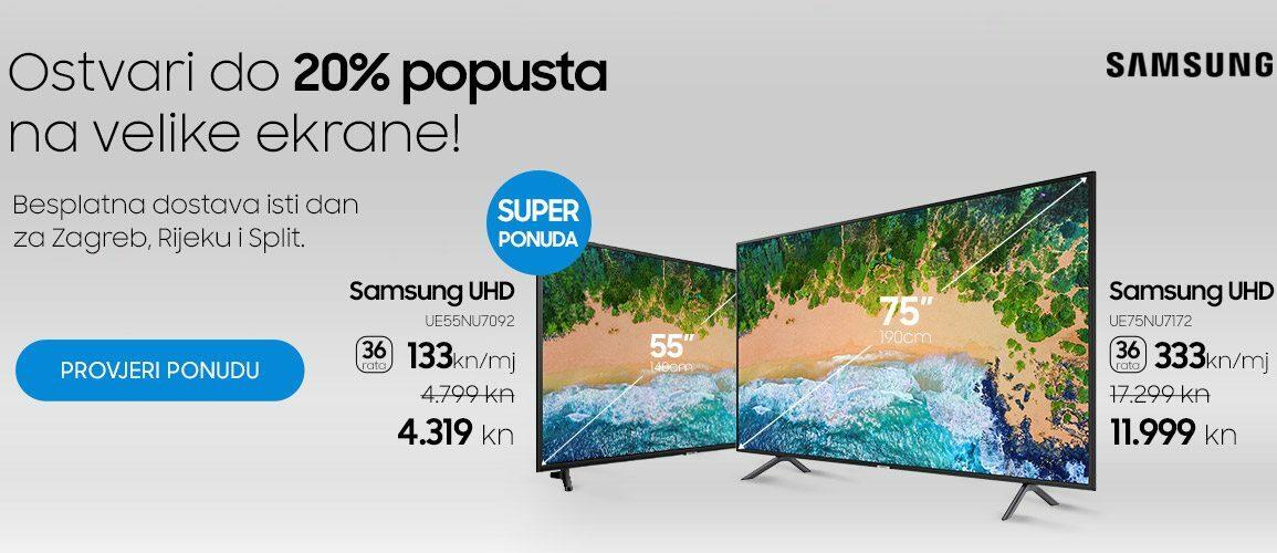 Samsung TV akcija