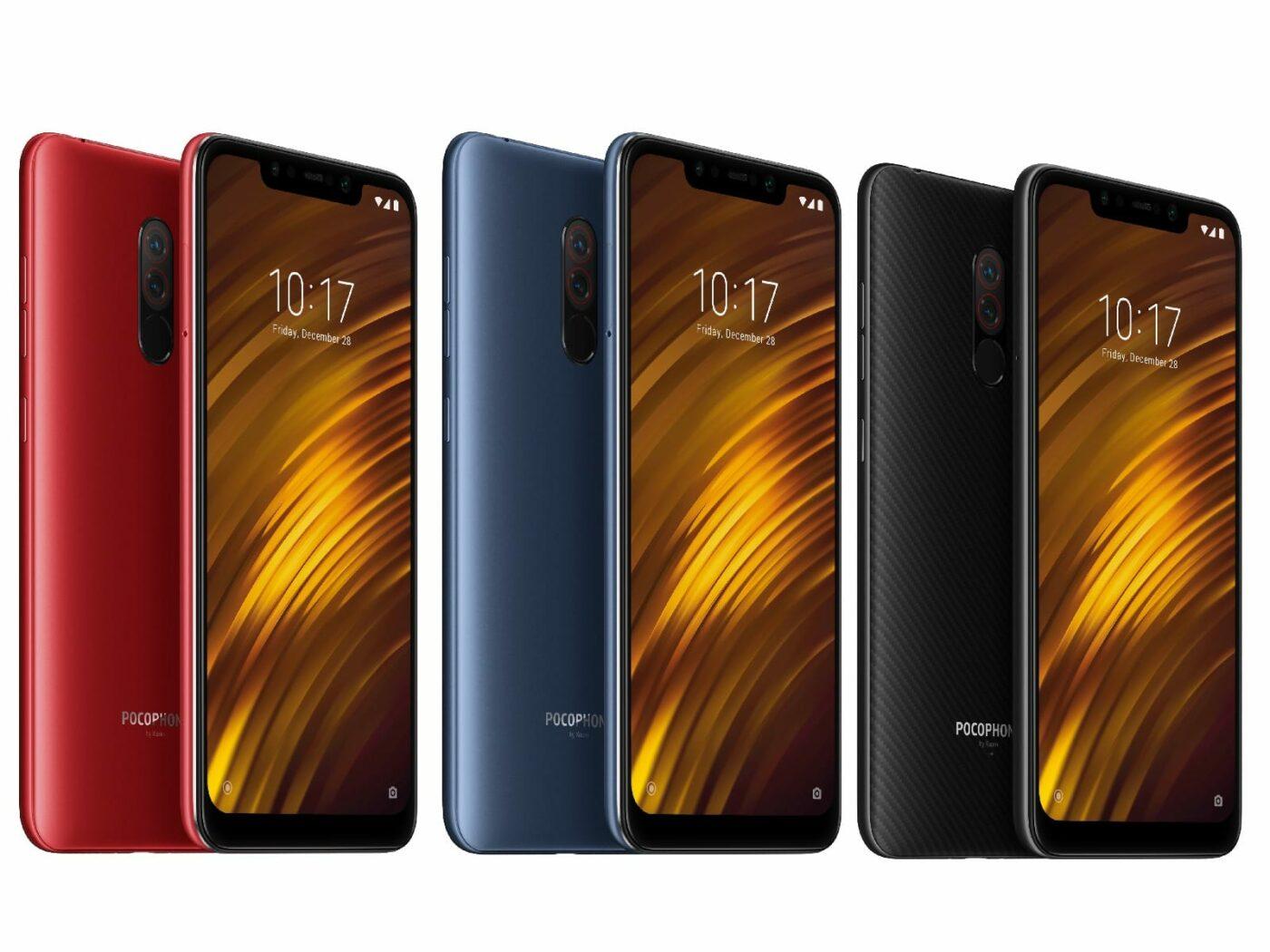 Xiaomi Pocophone F1 2
