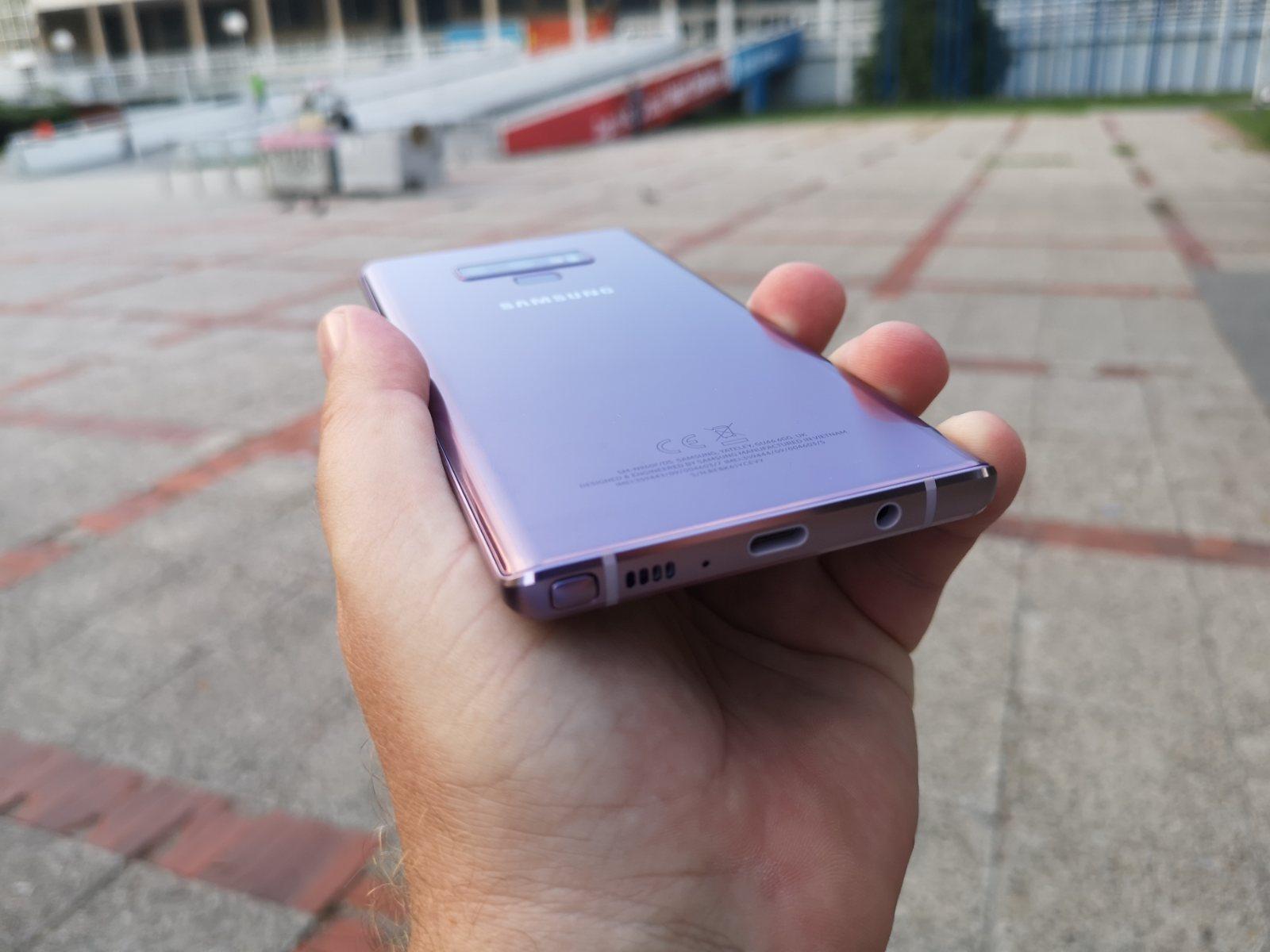 Samsung Note 9 test 30