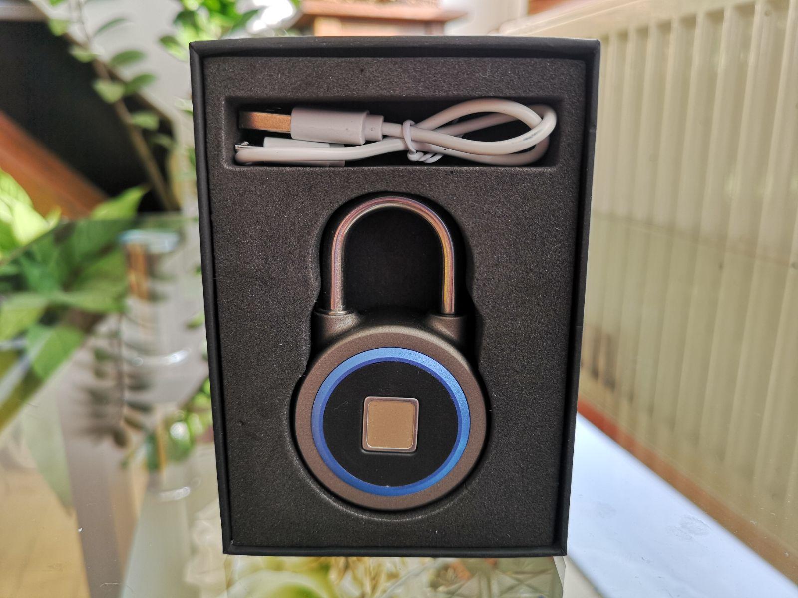 Bluetooth fingerprint lokot 1