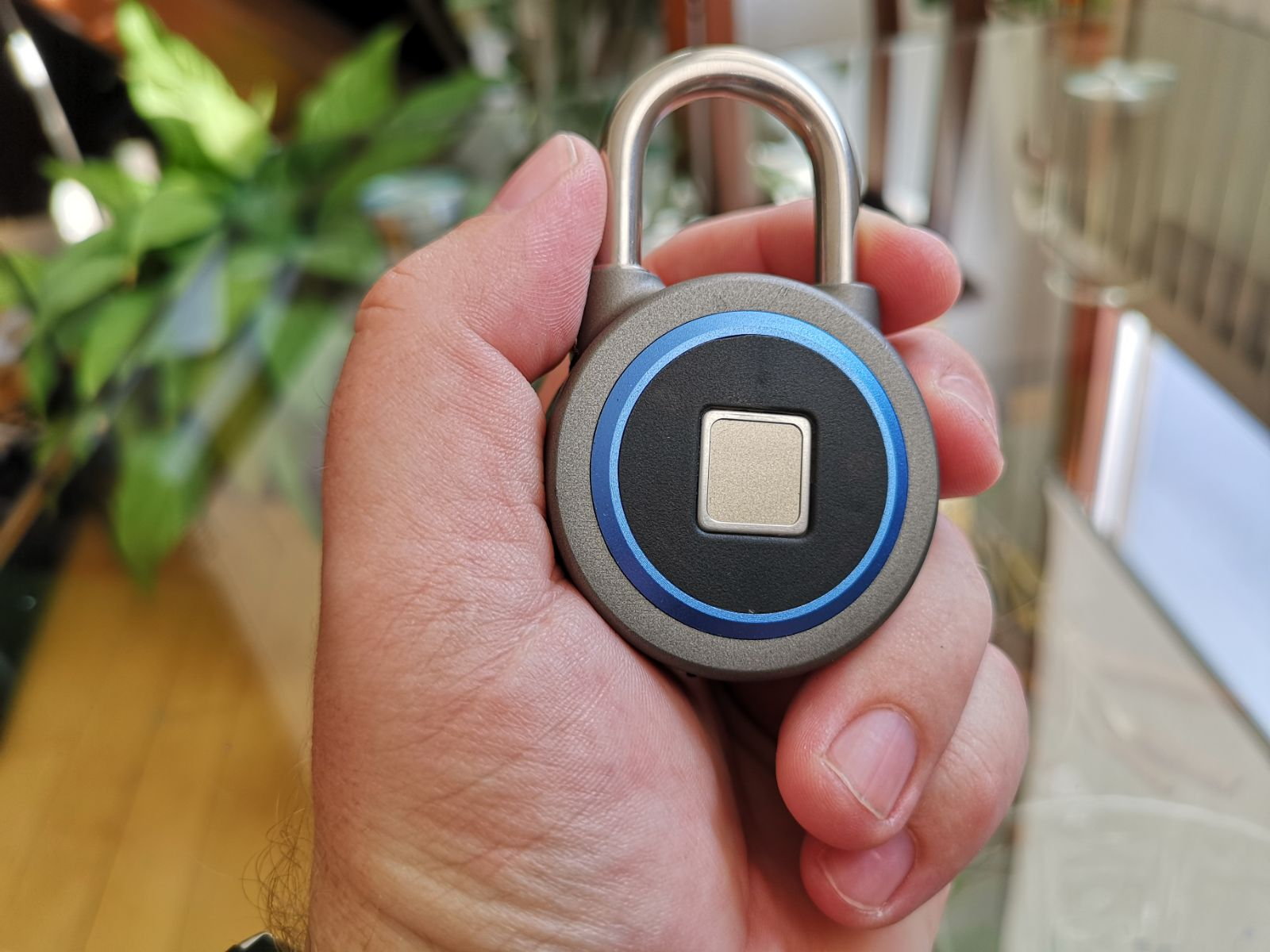 Bluetooth fingerprint lokot 5