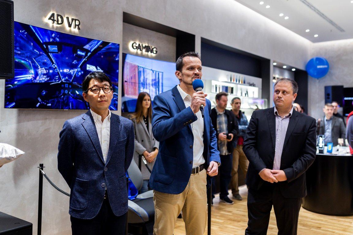 Samsung Experience Store Otvorenje u Zagrebu