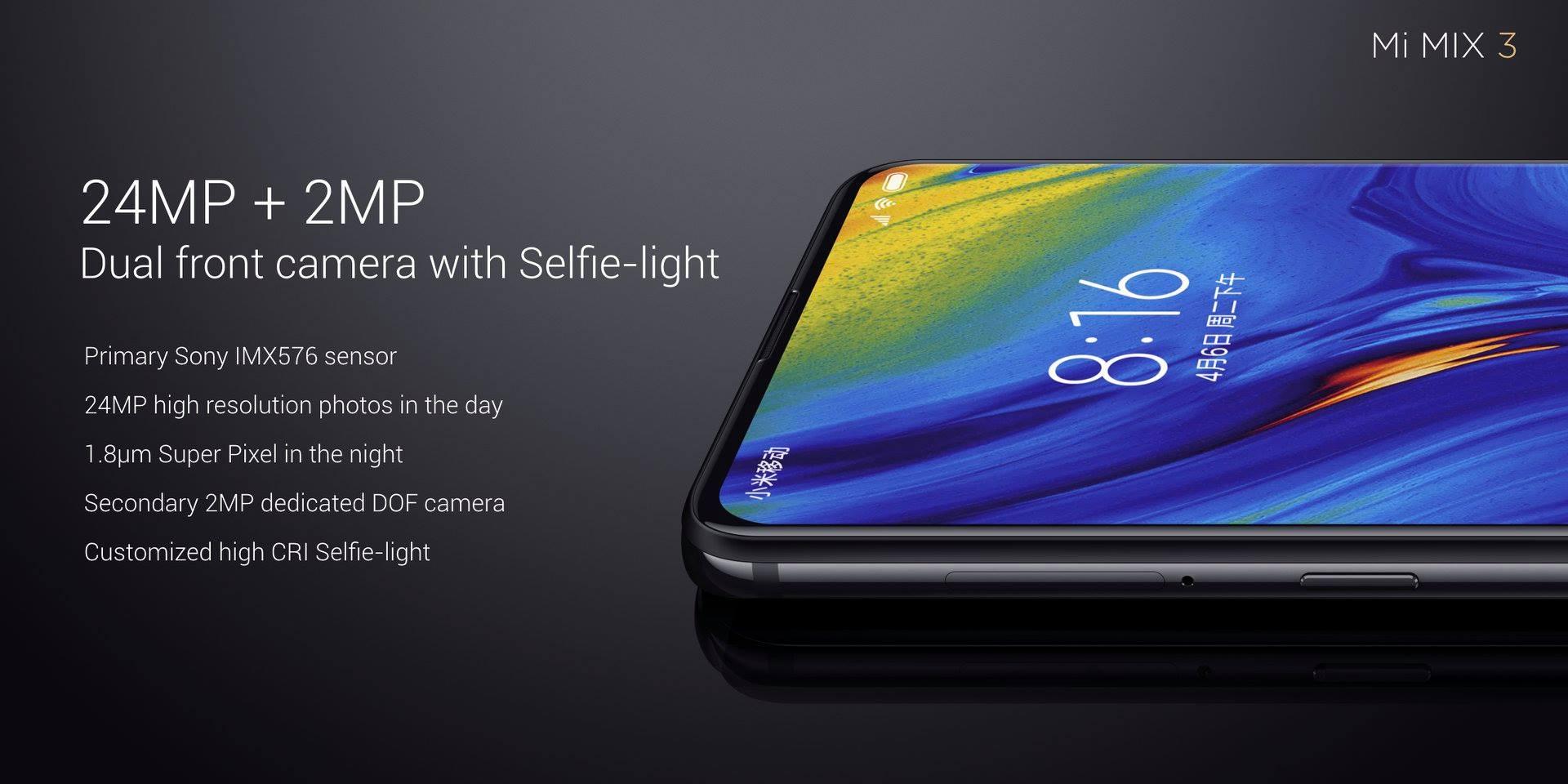 Xiaomi Mi Mix 3 12