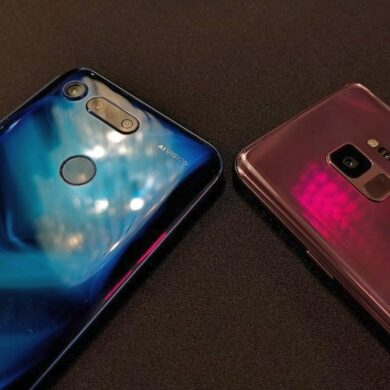 Honor View20 vs Samsung S9 1 1