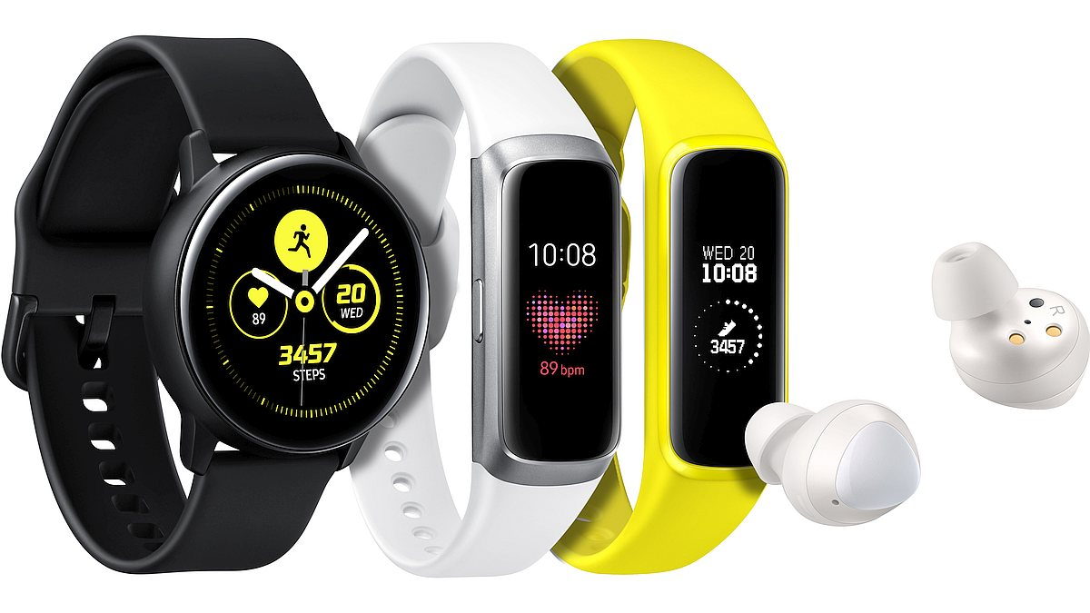 01. Galaxy Watch Active Fit Buds