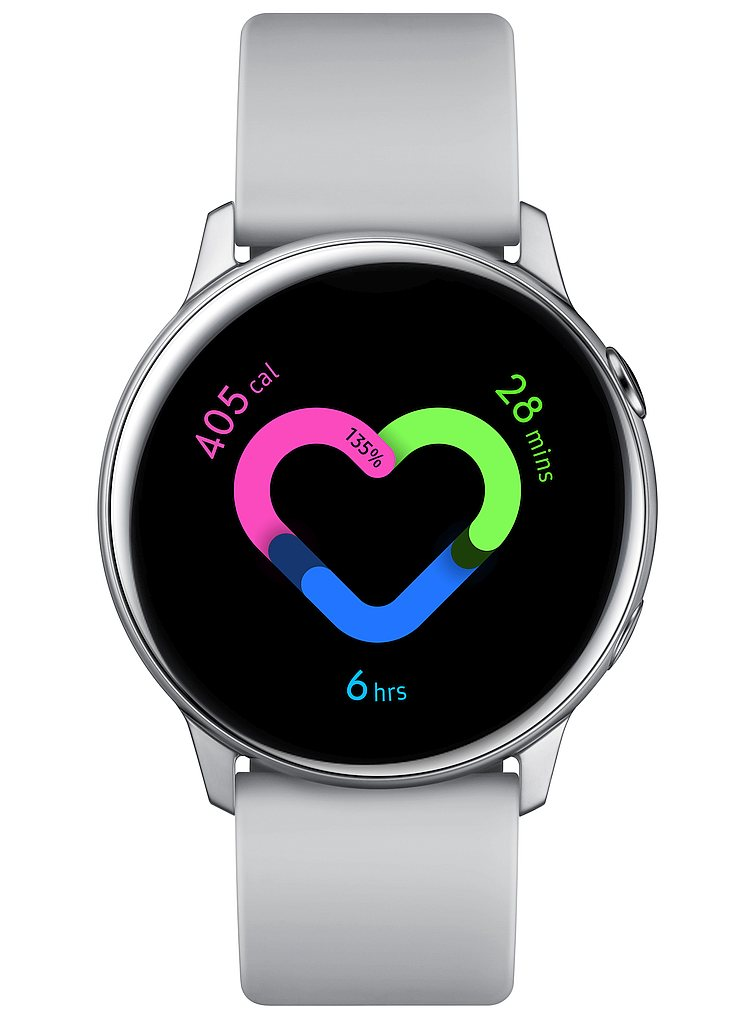 04. Galaxy Watch Active Silver