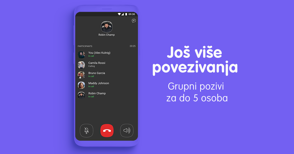 Viber 10 Image Group Calls