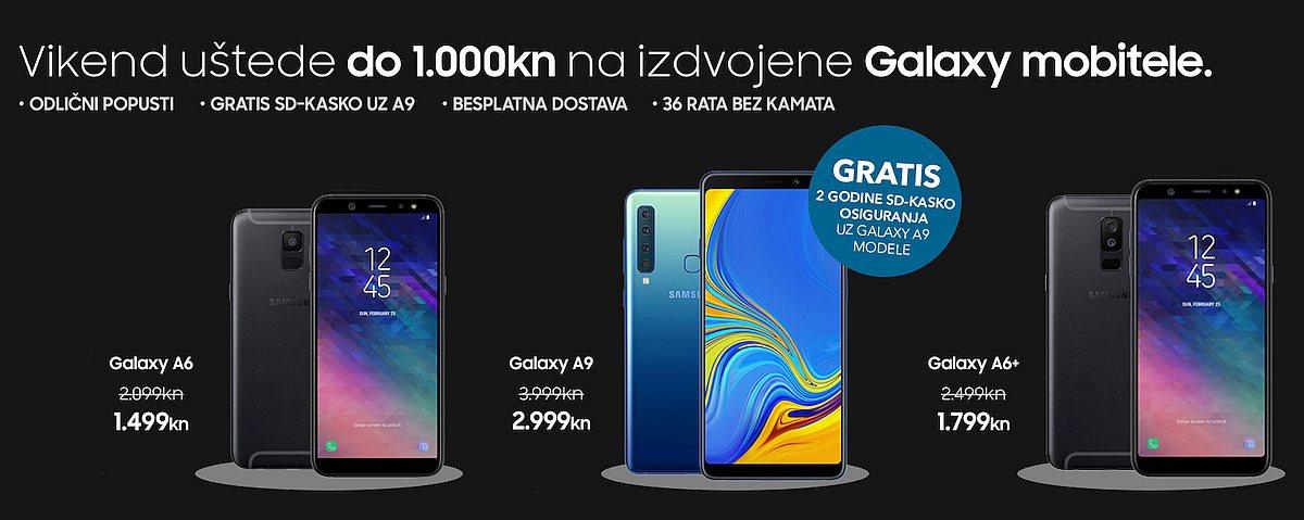Samsung mobiteli akcija