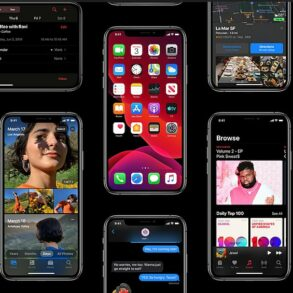 iOS 13 Dark Mode 2