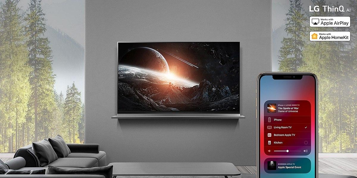 AirPlay2 on 2019 LG ThinQ AI TVs 1