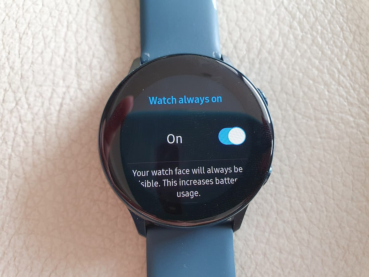 Samsung Galaxy Watch Active 12