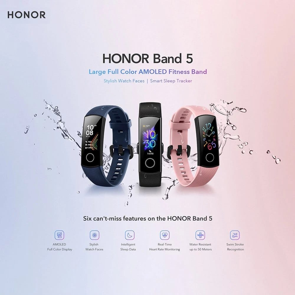 Huawei Honor Band 5 4
