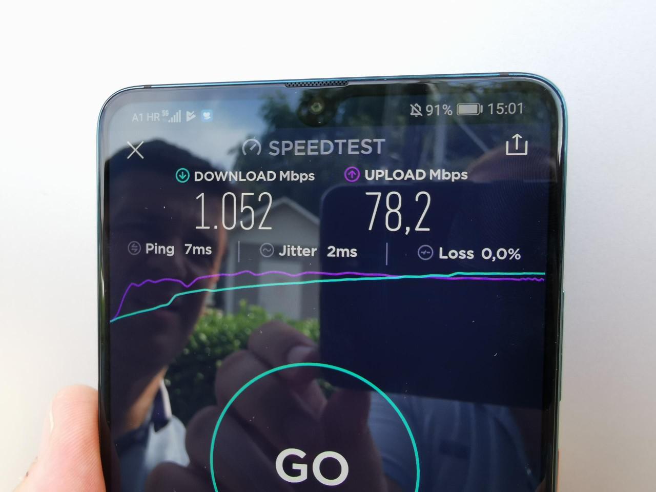 Huawei MAte 20X 5G mreža 6