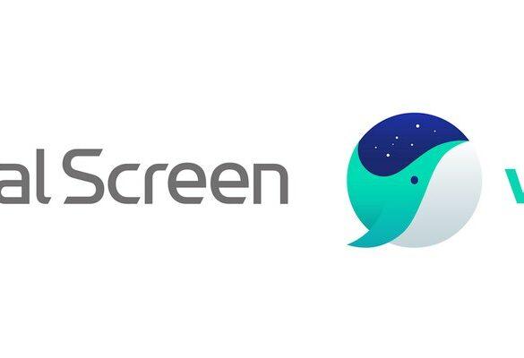 LG Dual Screen Naver Whale