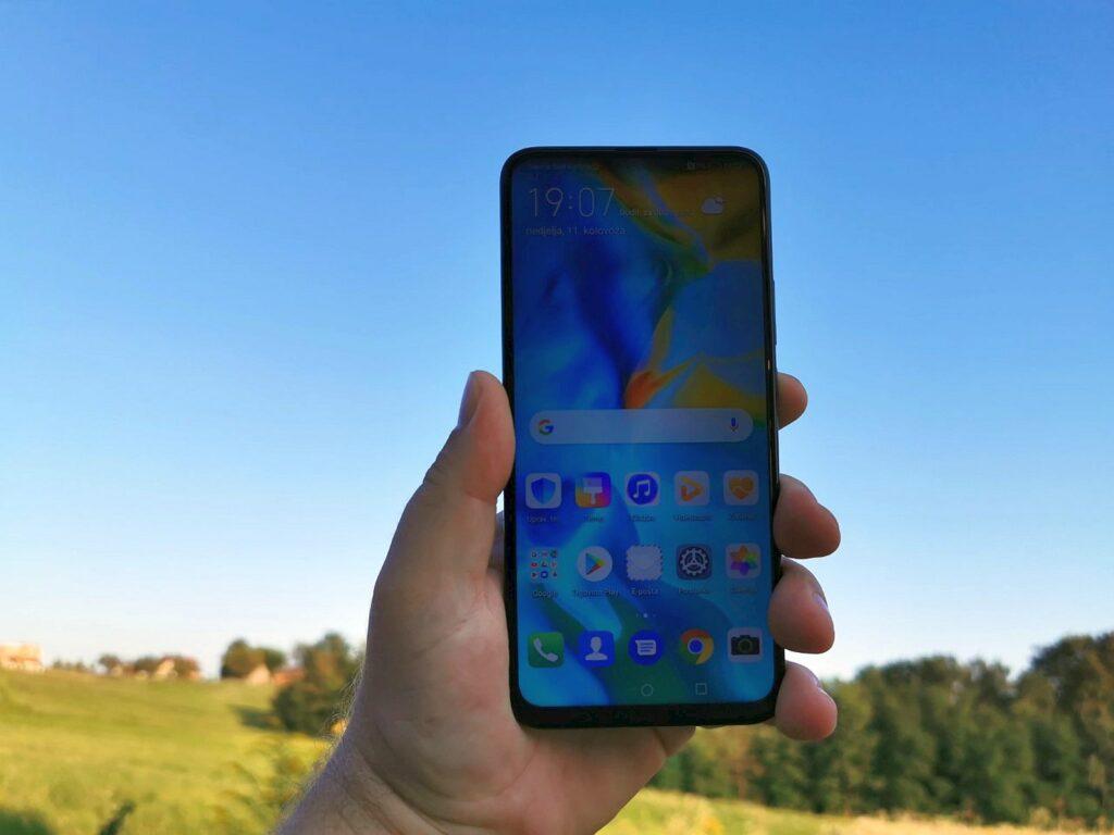P Smart Z ekran
