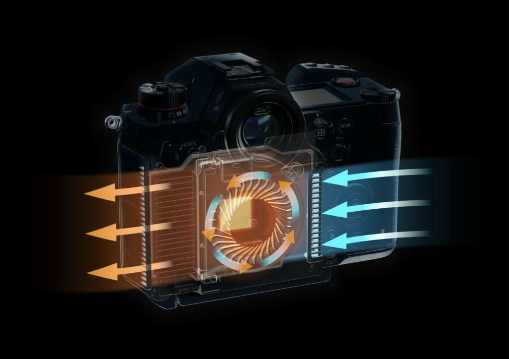 Prikaz napredne ventilacije koja omogućuje neprekidno snimanje