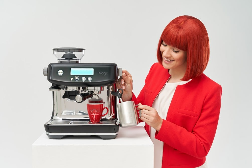 Sage Appliances Barista Pro Black Truffle 1