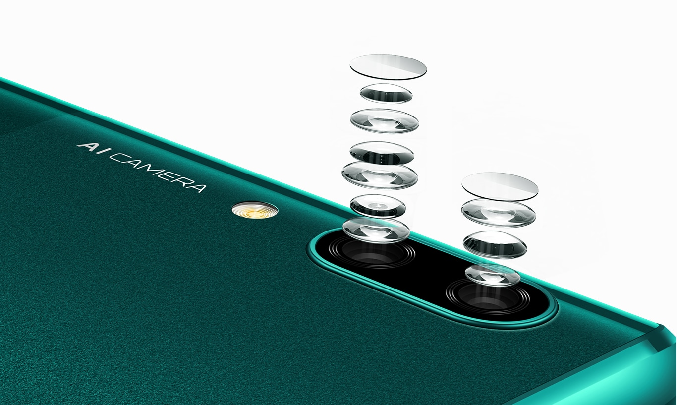 huawei p smart z 6p rear camera lens