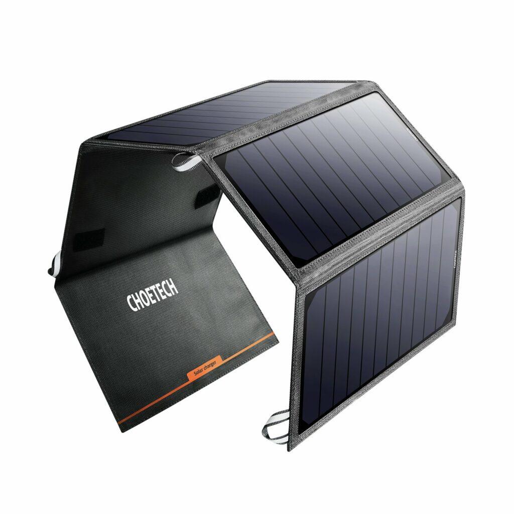 Choetech solarni punjač 1