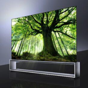 LG SIGNATURE OLED 8K TV model 88Z9 3