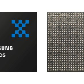 Exynos 990 Front and Back
