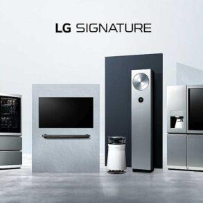 LG Signature bijela tehnika