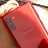 Samsung Note 10 crveni