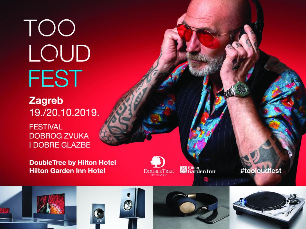 TOO LOUD FEST 2019 plakat