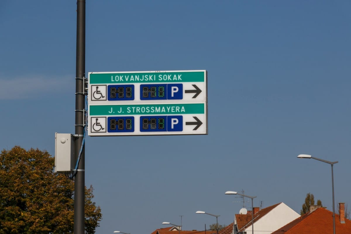 Vukovar smart parking 2