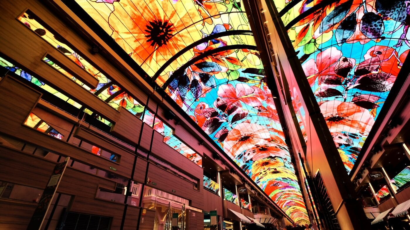 Samsung LED display aboard cruise ship MSC Grandiosa 4