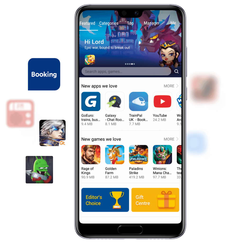 appgallery home
