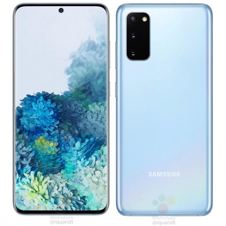 Galaxy S20 plavi