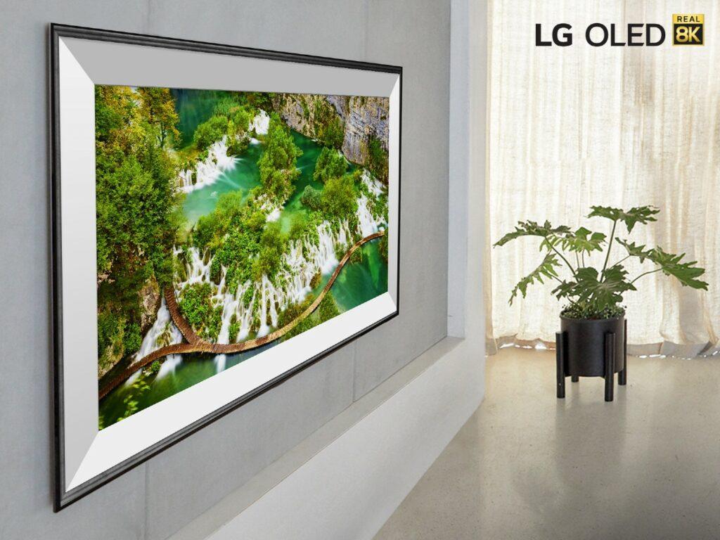 LG SIGNATURE OLED 8K TV 77ZX