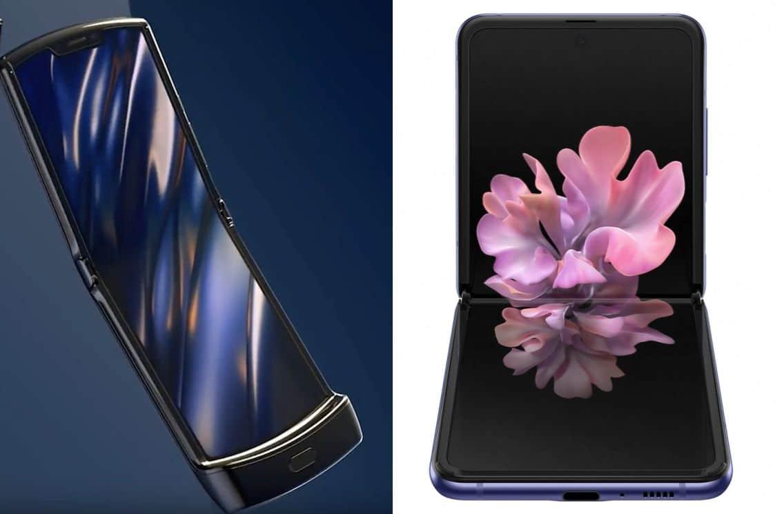 Motorola RAZR 2019 vs Samsung Galaxy Z Flip 2
