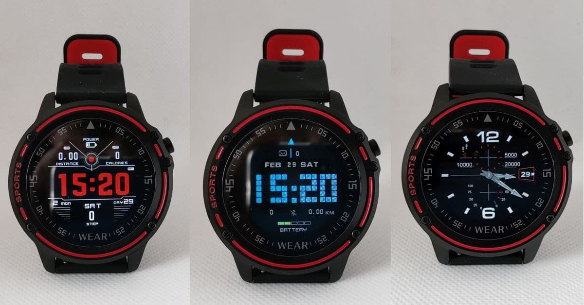 meanIT Smart watch MX Sport 14