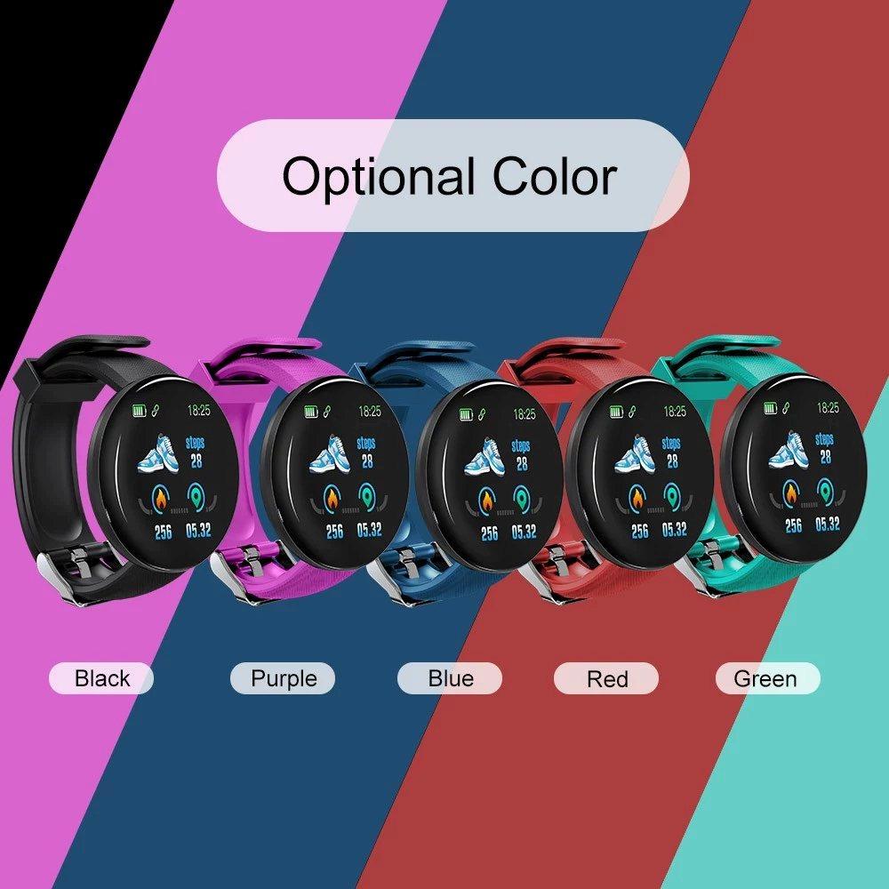 D18 smartwatch 5